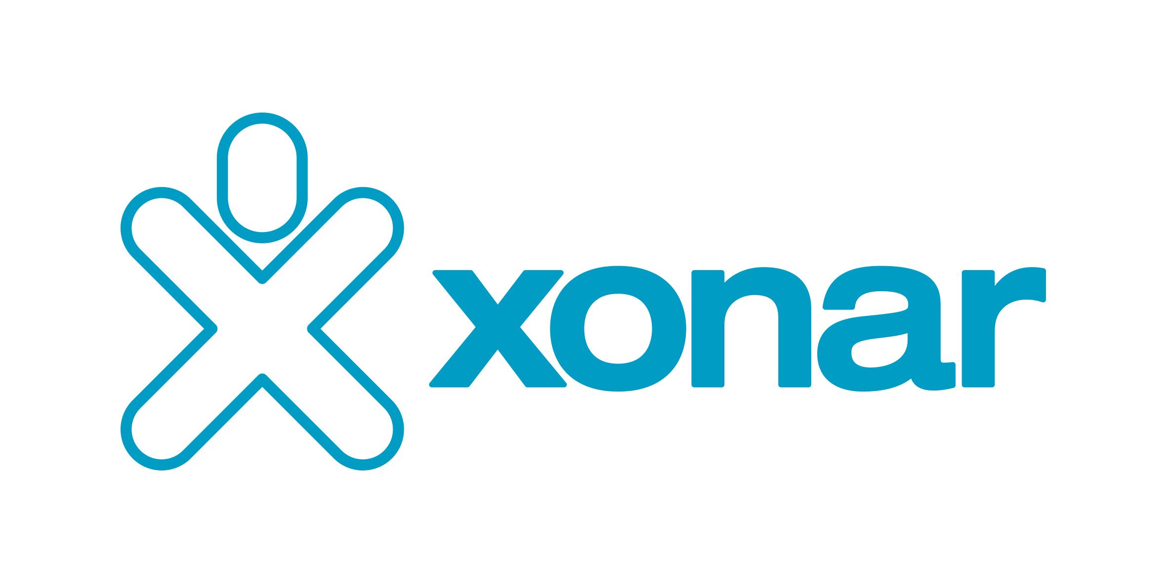 XONAR logo wit